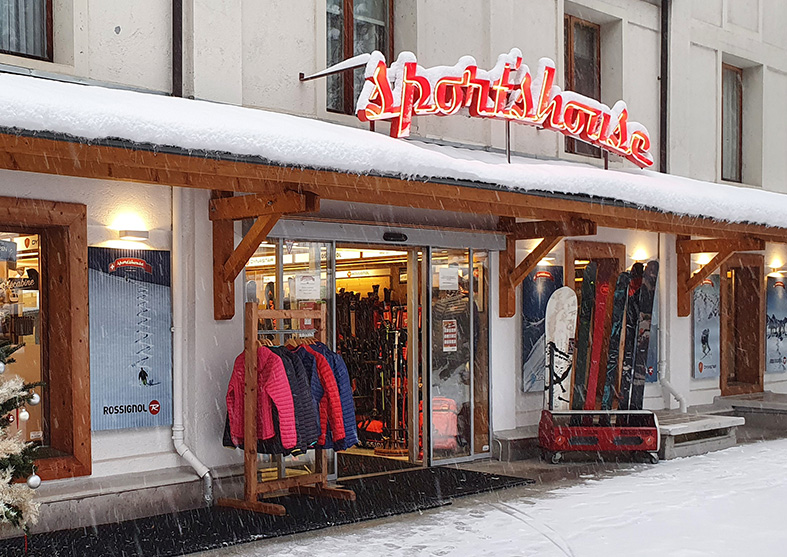 Sport's House Le Télécabine, your Rossignol and Dynastar proshop.